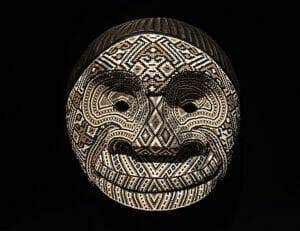 Tradiotnal Kamentsa beaded mask