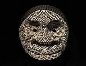 Tradiotnal Kamentsa beaded mask