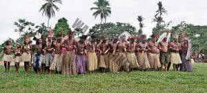 People from the Nukini tribe in traditional clothing, the makers of Rapé Marachimbé