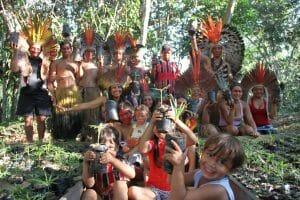 Kuntanawa tribe on a planting day